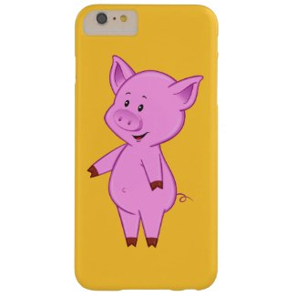 Cute Cartoon Pig iPhone 6 Plus Case