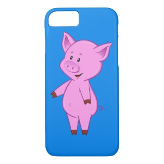 Cute Cartoon Pig iPhone 7 Case