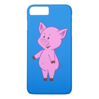 Cute Cartoon Pig iPhone 7 Plus Case
