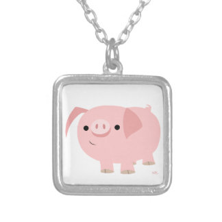 Cute Cartoon Pig Necklace