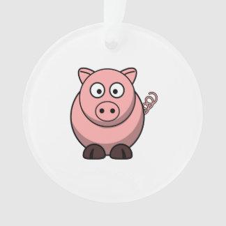 Cute Cartoon Pig Ornament