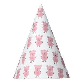 Cute Cartoon Pig Party Hat
