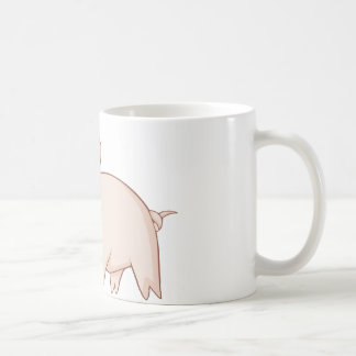 Cute Cartoon Pig Shirts Coffee Mug