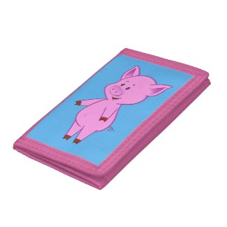 Cute Cartoon Pig Wallet