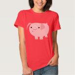 Cute Cartoon Pig Women T-Shirt