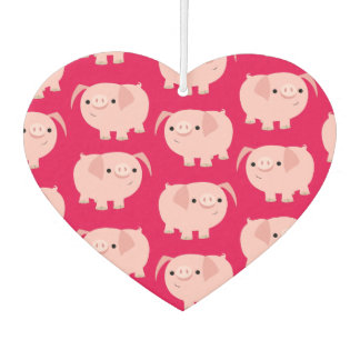 Cute Cartoon Pigs Car Freshener Air Freshener