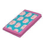 Cute Cartoon Pigs Wallet