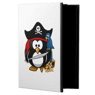 Cute Cartoon Pirate Penguin with Parrot Powis iPad Air 2 Case