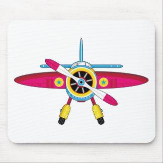 Cute Cartoon Plane Mouse Pad
