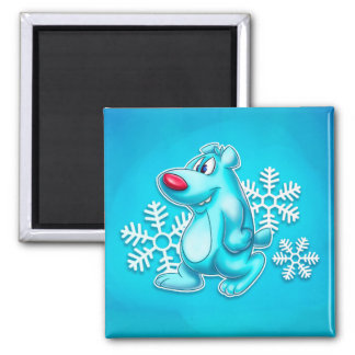cute cartoon polar bear magnet