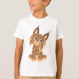 Cute Cartoon Prankish Lynx Children T-Shirt