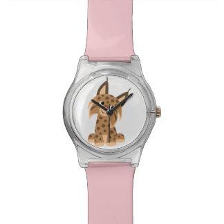 Cute Cartoon Prankish Lynx May 28th Watch