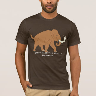 Cute Cartoon Pro Woolly Mammoth T-Shirt
