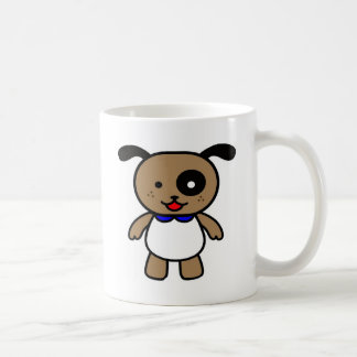 Cute cartoon puppy coffee mug