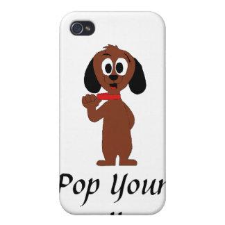 Cute Cartoon Puppy iPhone 4/4S Case