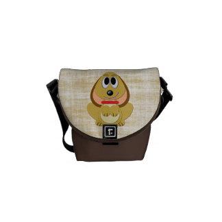 Cute Cartoon Puppy Messenger Bag