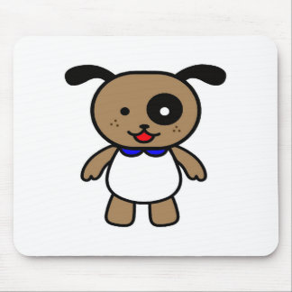 Cute cartoon puppy mouse pads
