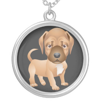 Cute Cartoon Puppy Necklace