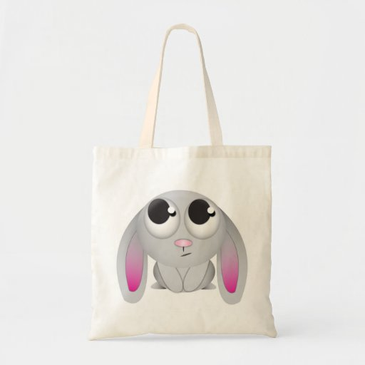 Cute Cartoon Rabbit Canvas Bags
