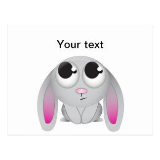Cute Cartoon Rabbit Postcard