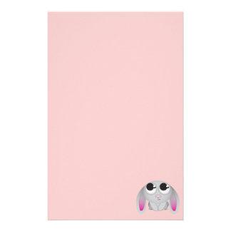 Cute Cartoon Rabbit Custom Stationery