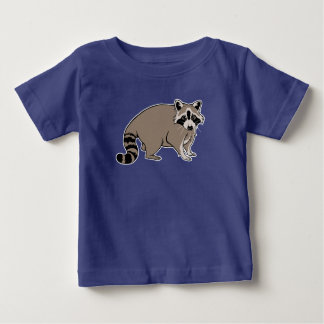 Cute Cartoon Raccoon Baby T-Shirt