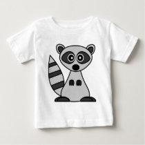 Cute Cartoon Raccoon Baby T-Shirt