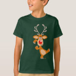 Cute Cartoon Reindeer Children's T-Shirt