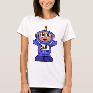 Cute Cartoon Robot T-shirt for Women
