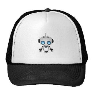 Cute Cartoon Robot Trucker Hat