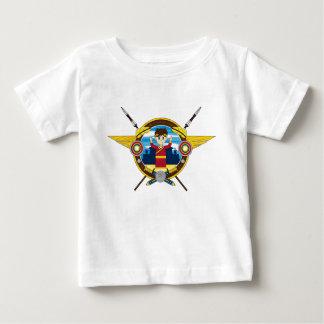 Cute Cartoon Roman Emperor Baby T-Shirt