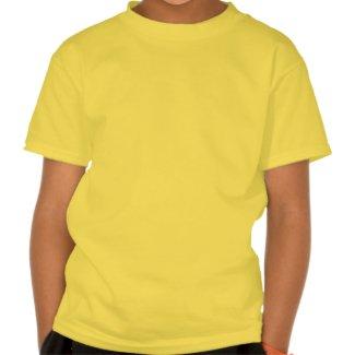 Cute Cartoon Rummaging Kangaroo Children T-Shirt shirt