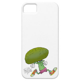 Cute cartoon running Broccoli, iphone5 cover. iPhone SE/5/5s Case