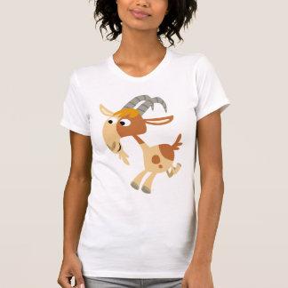 Cute Cartoon Running Goat Women T-Shirt