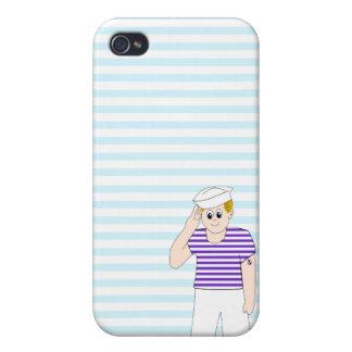 Cute Cartoon Sailor iPhone 4/4S Cover