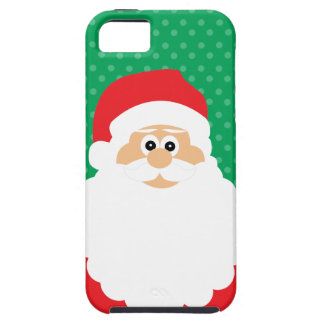 Cute Cartoon Santa iPhone 5 Cover