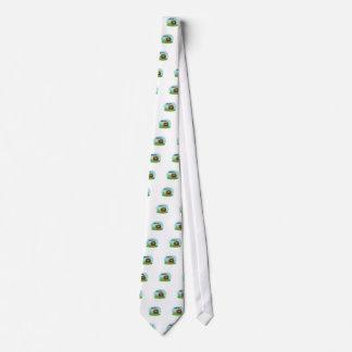 Cute Cartoon sasquatch Neck Tie