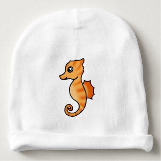 cute cartoon sea horse baby beanie