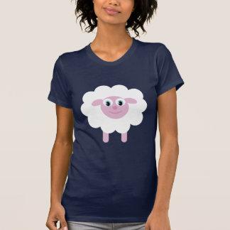 Cute Cartoon Sheep Animal Charity Customizable Tshirts
