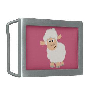 Cute Cartoon Sheep Belt Buckle