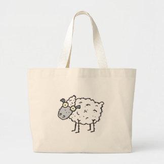 cute cartoon sheep canvas bags