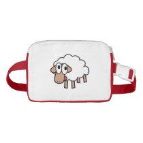 Cute cartoon sheep fanny pack