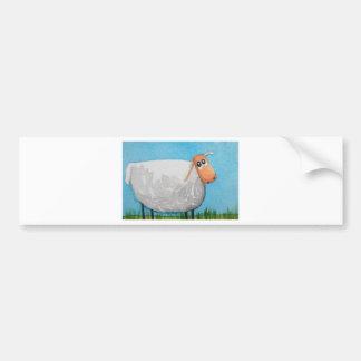 Cute cartoon sheep Gordon Bruce art Bumper Sticker