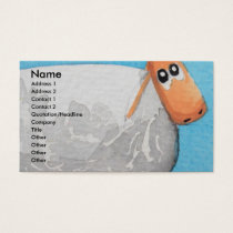 Cute cartoon sheep Gordon Bruce art Business Card