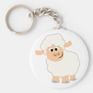 Cute Cartoon Sheep Keychain