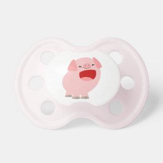Cute Cartoon Singing Pig Pacifier