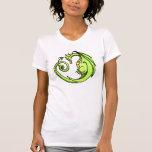 Cute Cartoon Sleepy Dragon Tee Shirts