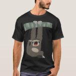 Cute Cartoon Sloth Dangling From a Branch T-Shirt