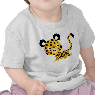 Cute Cartoon Smiling Leopard Baby T-Shirt
