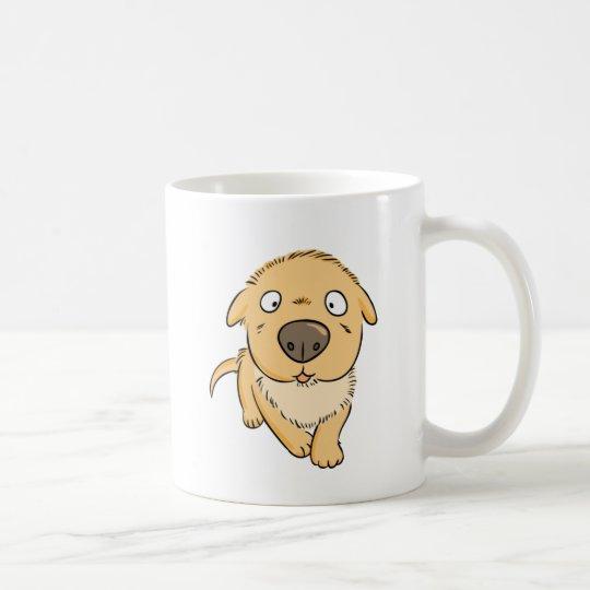 Cute Cartoon Sniffing Puppy Dog Coffee Mug